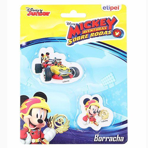 Kit c/ 2 Borrachas Mickey - Disney