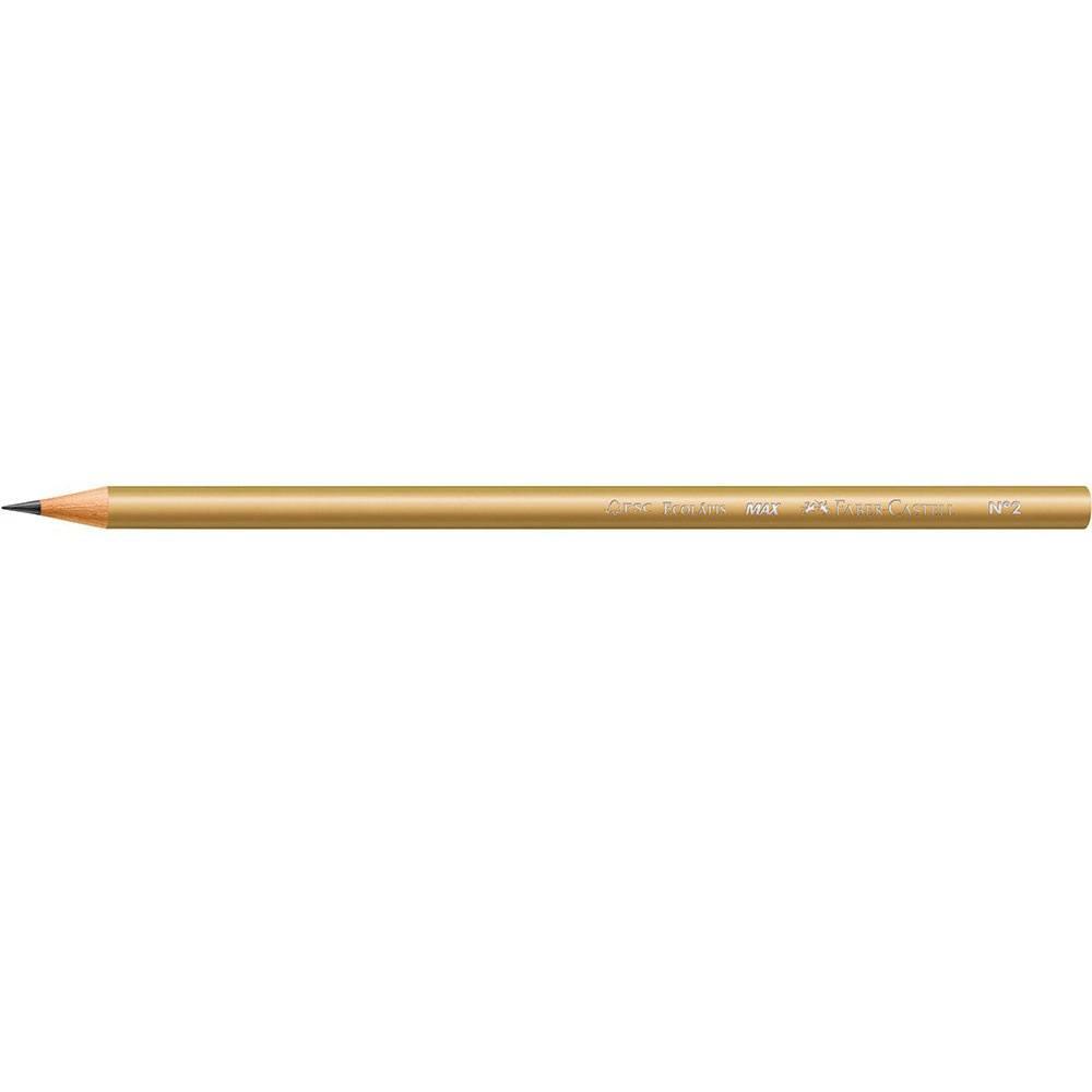 "Lápis Preto Ecolápis Grafite Metallic Nº2 ""B"" - Faber-Castell"