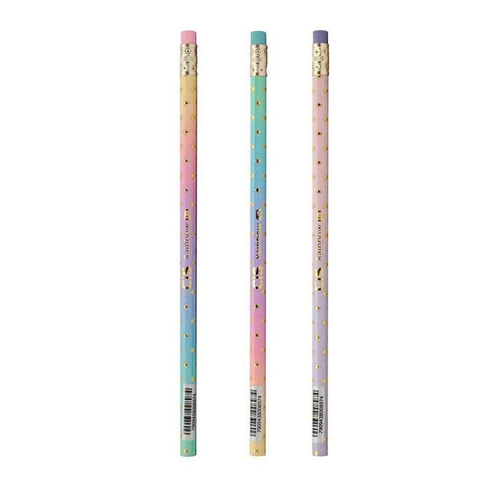 Lápis Preto/Grafite HB Rainbow - CiS