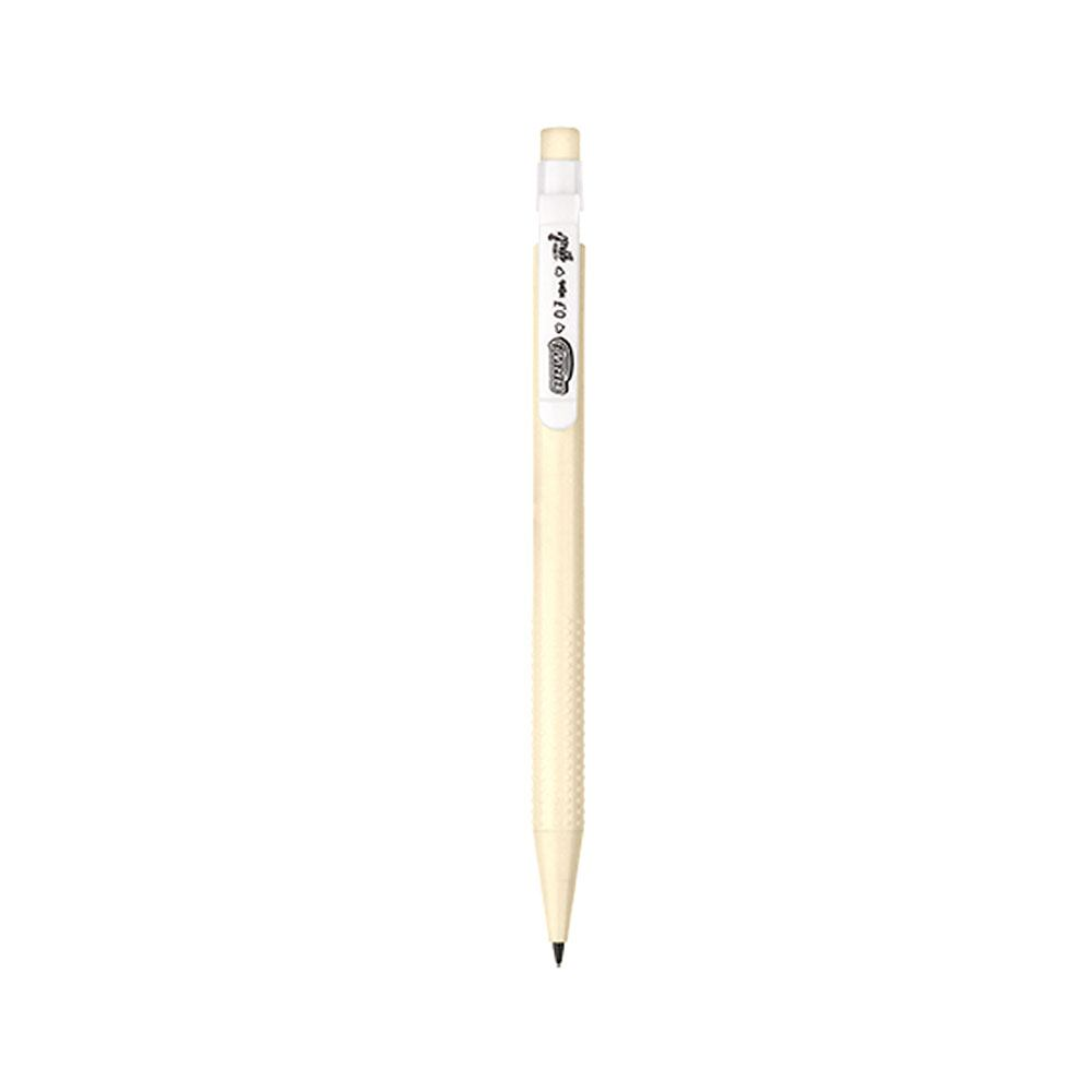 Lapiseira Plástica 0.7mm Clip Branco Tons Pastel - BRW