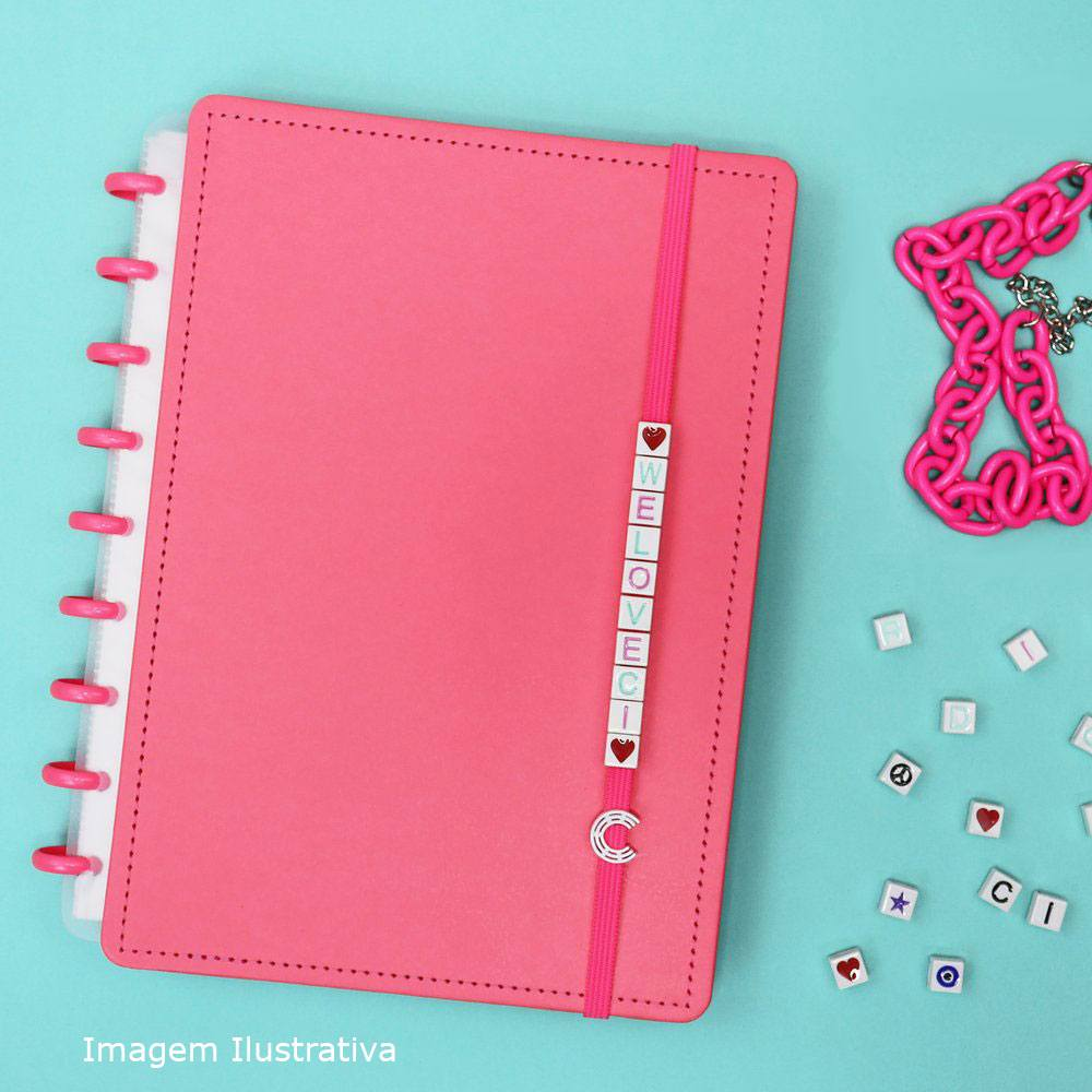 Acessório LikeU Love Pastel Pink - Caderno Inteligente