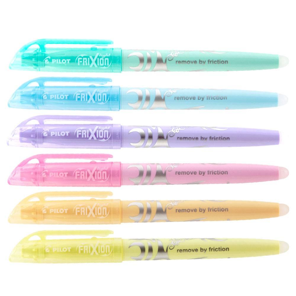 Pincel Marca Texto Apagável Frixion Light Pastel - PILOT