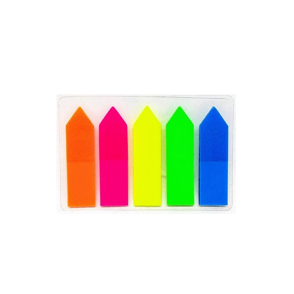 Marcador de Página Auto Adesivo Neon 100 Fls.