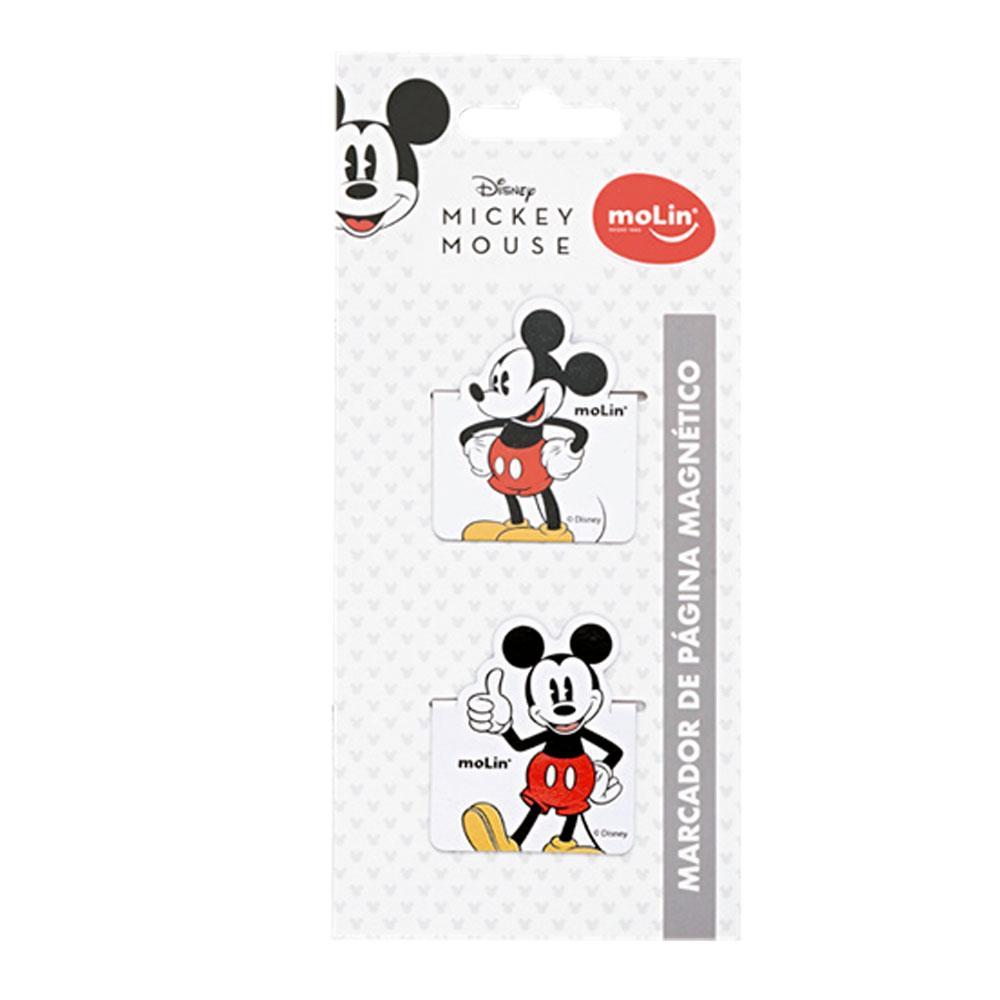 Marcador de Página Magnético Mickey/Minnie Disney C/ 2 Unid. - Molin