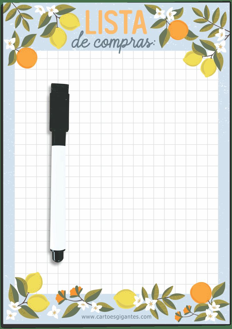 Memo Board Magnético Pequeno 15x21 - Cartões Gigantes