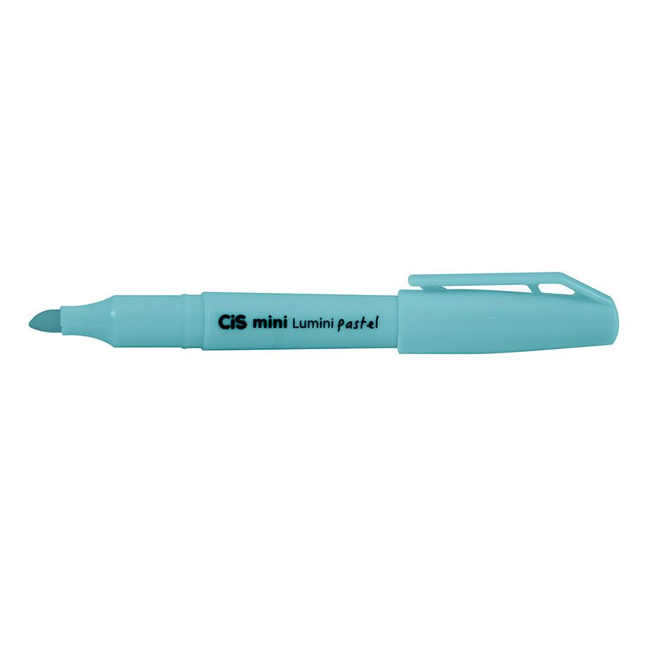 Pincel Marca Texto Mini Lumini Pastel - CIS
