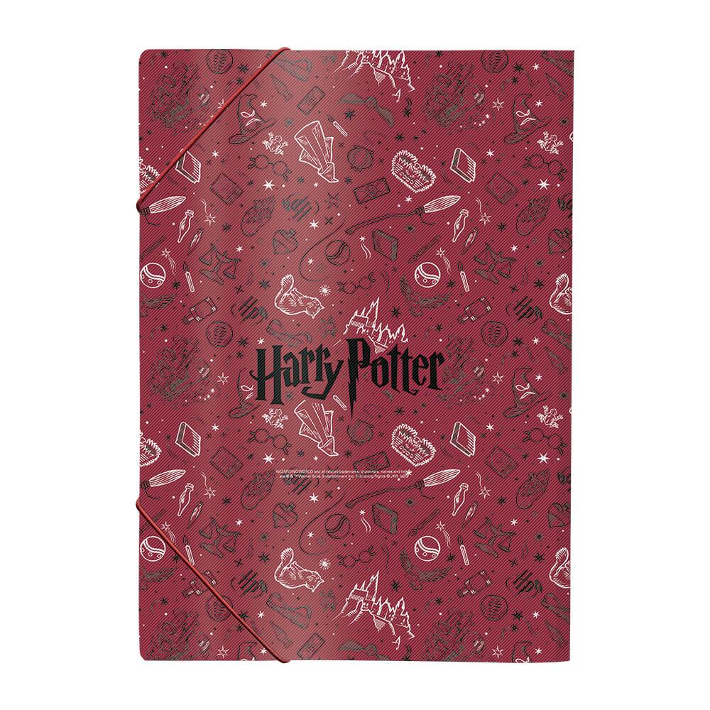 Pasta Aba Elástico Ofício Sem Lombo Harry Potter – DAC