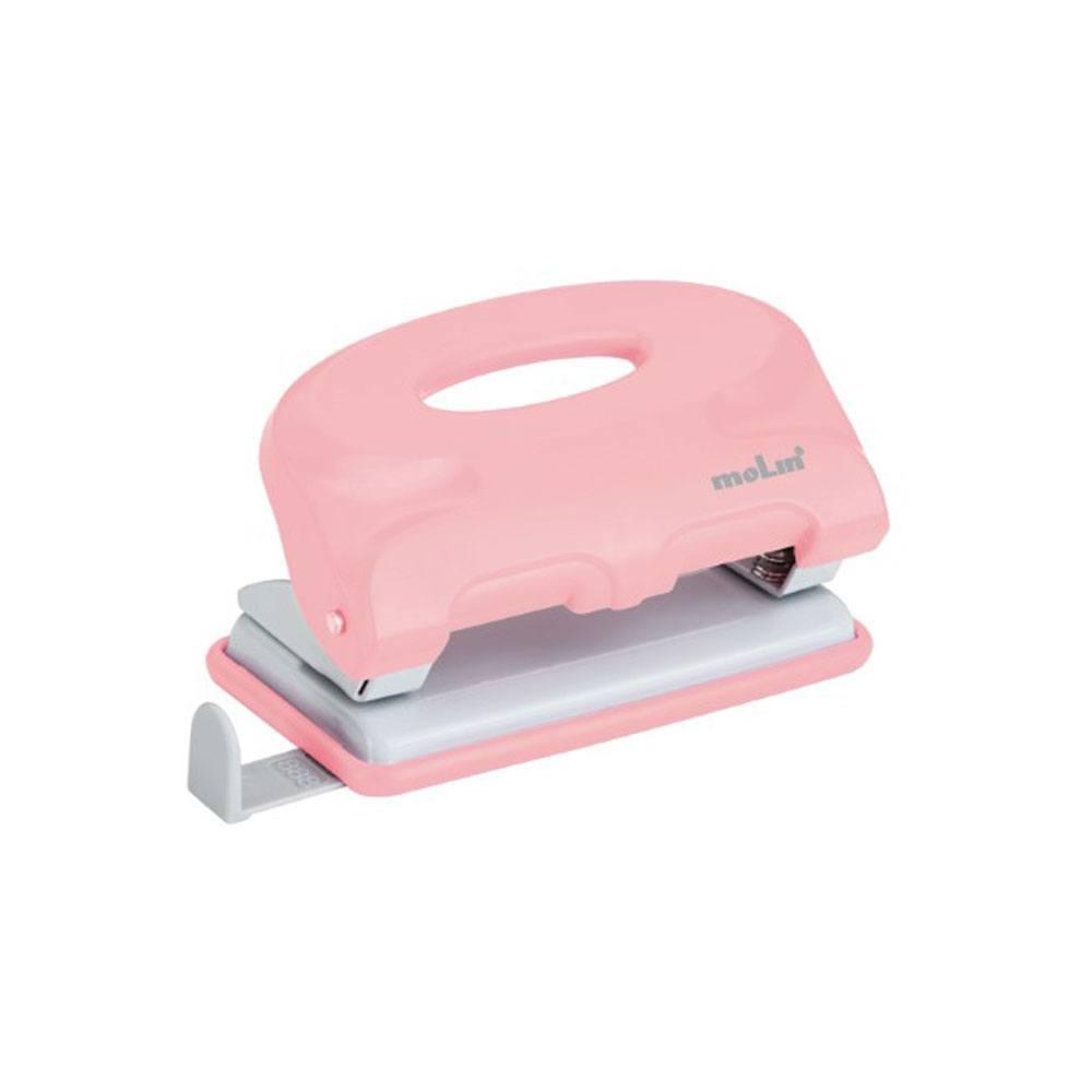 Perfurador Plástico NewStyle 10 Fls Rosa Claro - Molin