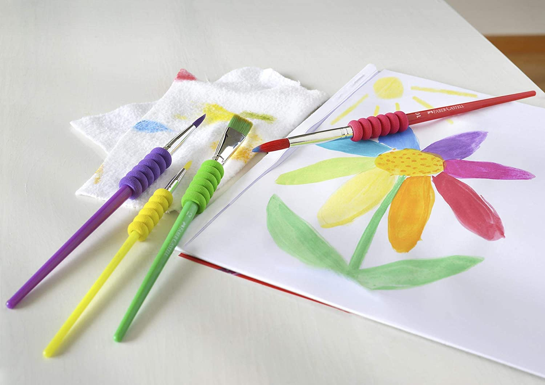 Pincel Soft Touch - Cartela Com 4 Peças - Faber-Castell