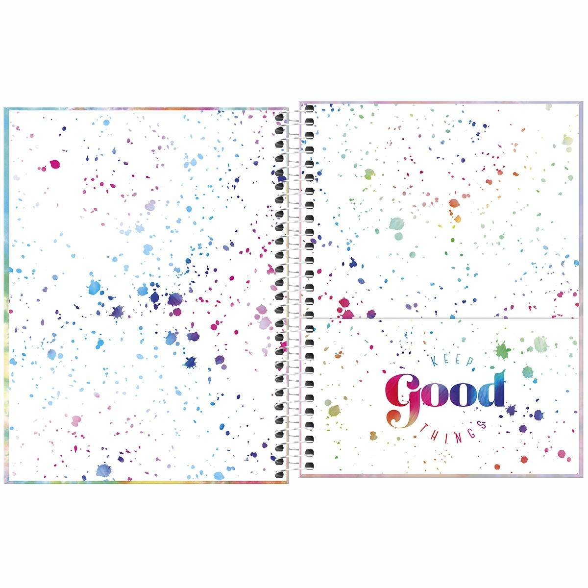 Planner Espiral Médio Good Vibes 2021 - Tilibra