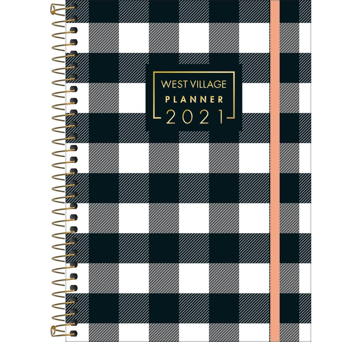 Agenda/Planner Espiral West Village 2021 M5 - Tilibra