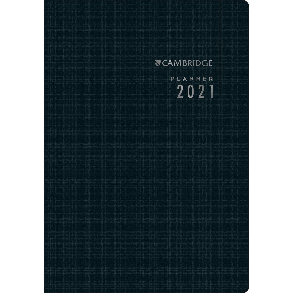 Planner Executivo Grampeado Cambridge 2021 - Tilibra