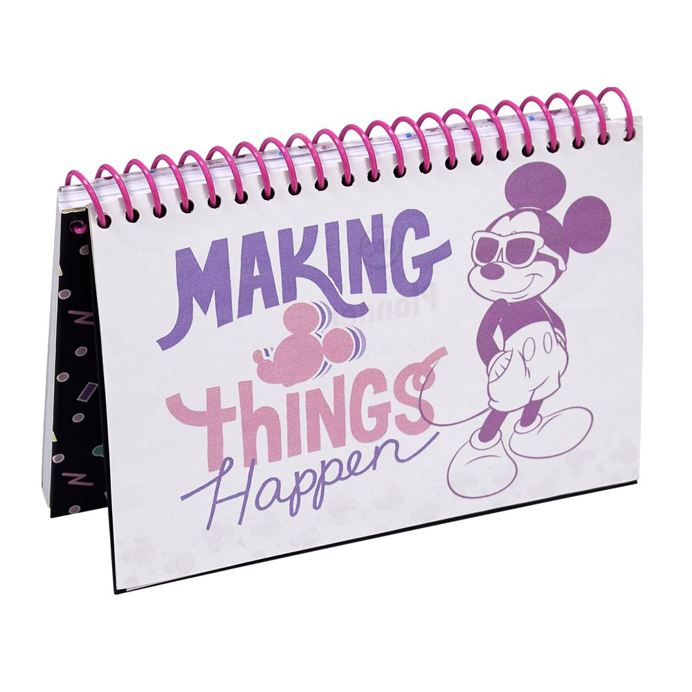 Planner Permanente Mickey/Minnie C/ Espiral - DAC