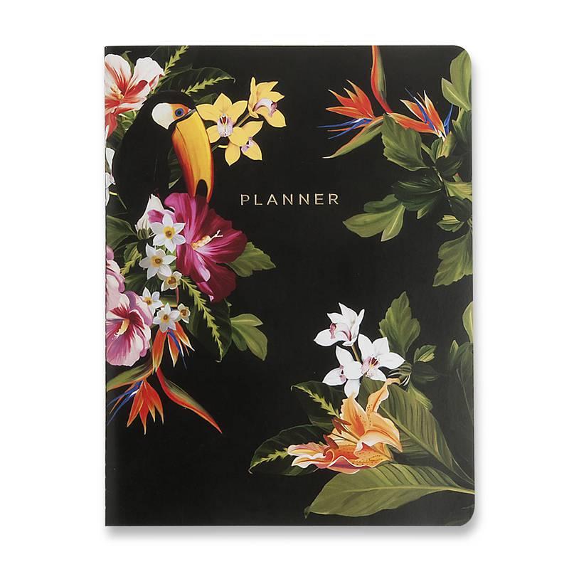 Planner Revista Mensal Planejamento Tropical 19x25 - Cicero
