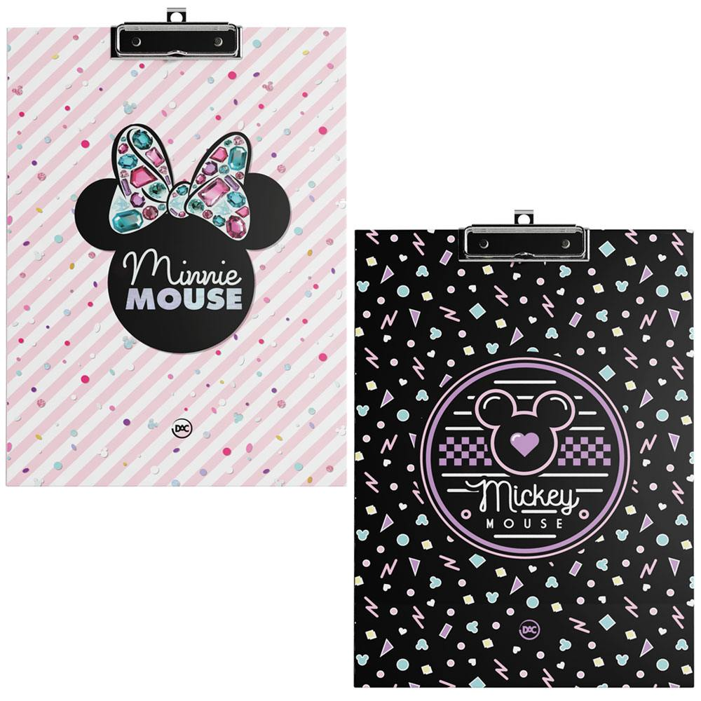 Prancheta Planner Permanente Mickey / Minnie 12Fls  - DAC