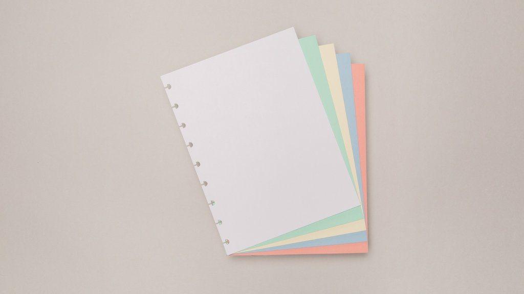Refil Colorido Caderno Inteligente