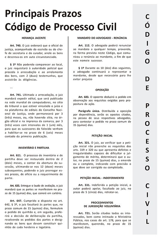 Agenda jurídica 2021 - Cor preta