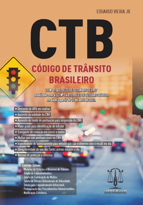 CTB - CÓDIGO DE TRÂNSITO BRASILEIRO
