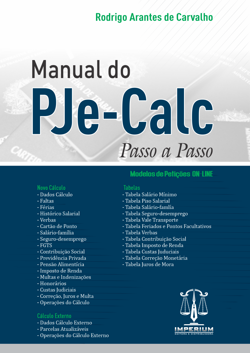 Manual do PJe-Calc - Passo a Passo