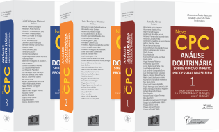 NOVO CPC - ANÁLISE DOUTRINÁRIA SOBRE O NOVO DIREITO PROCESSUAL BRASILEIRO -COLEÇÃO (2A EDIÇÃO)