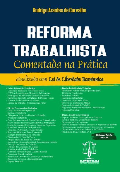 REFORMA TRABALHISTA COMENTADA NA PRÁTICA