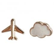Brinco Avião e Nuvem
