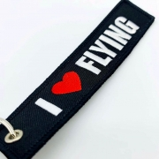 Tag Chaveiro I Love Flying