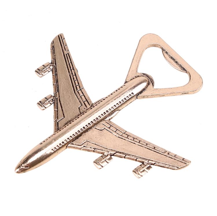 Abridor de Garrafa de Avião