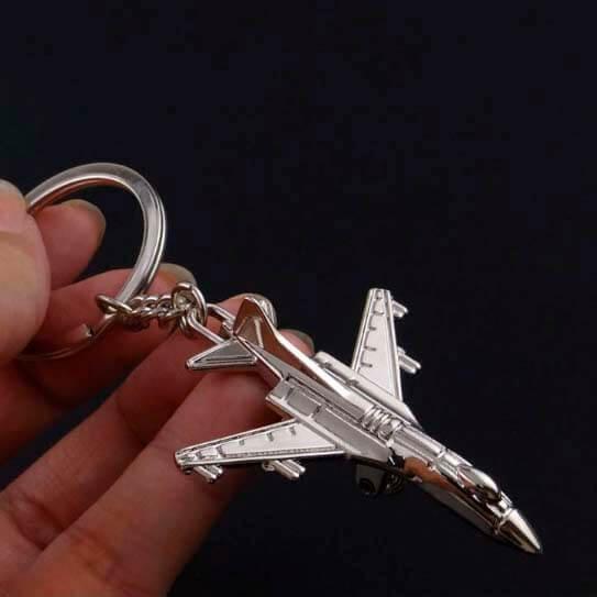 Chaveiro Avião Clássico