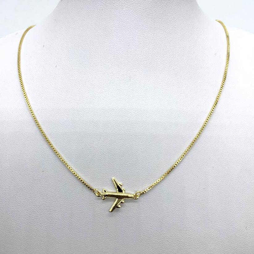 Colar Avião Clássico