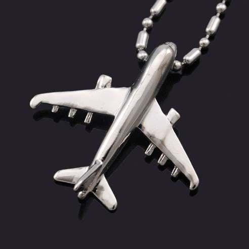 Colar Aviões Bijoux