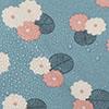 AC0120 Floral Azul