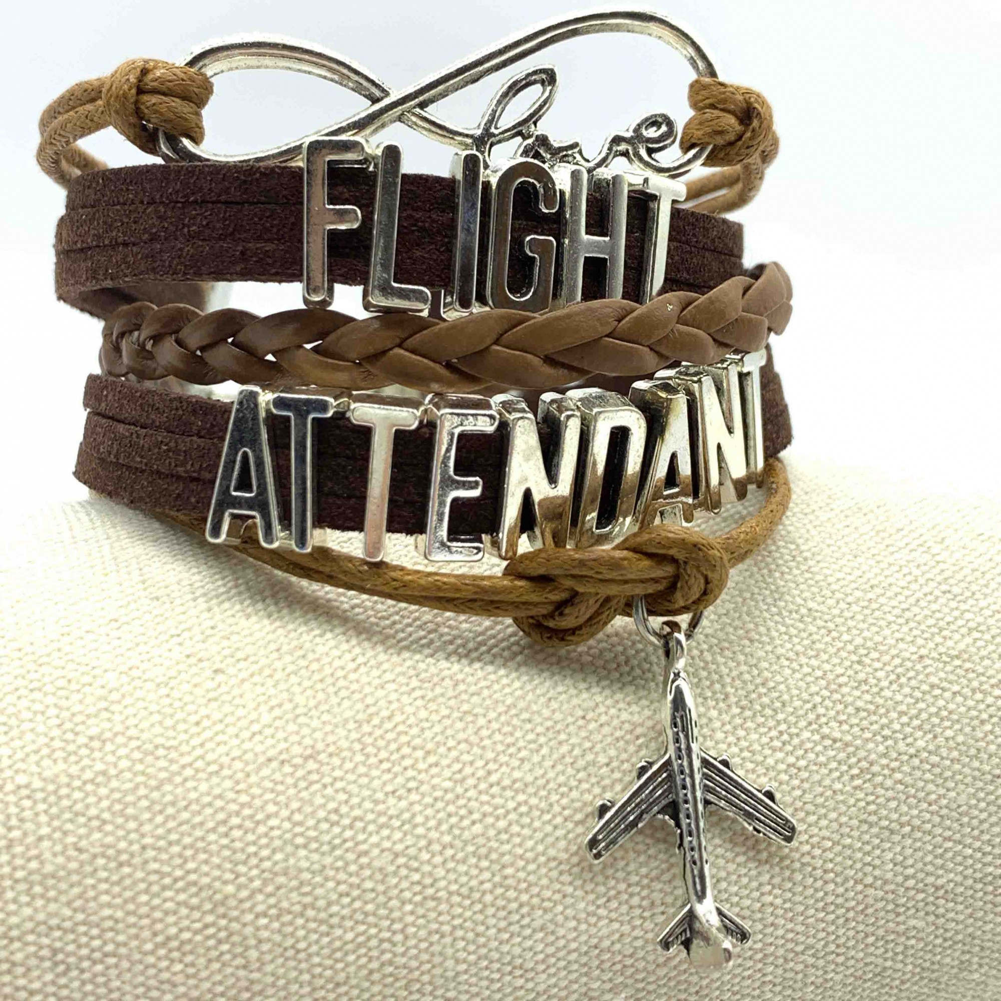 Pulseira Flight Attendant