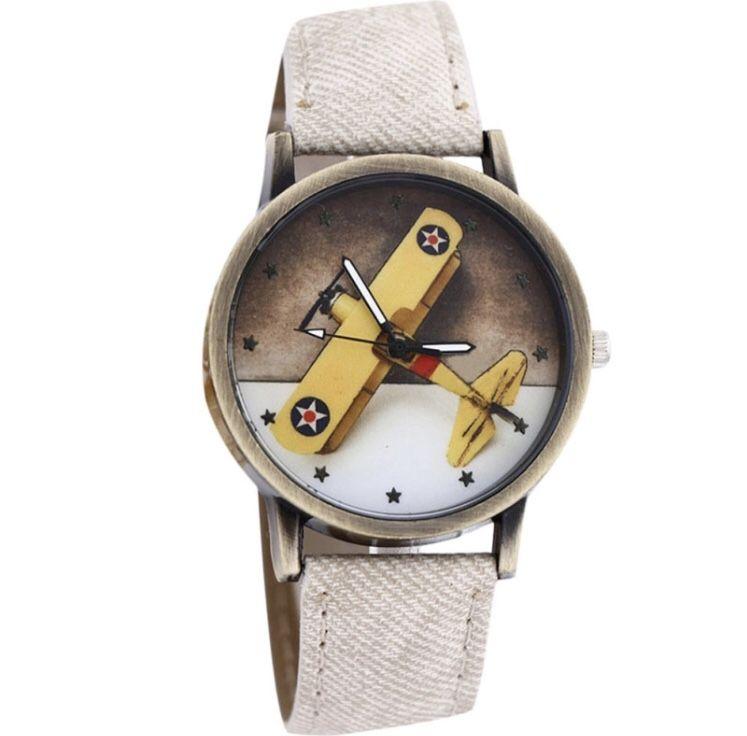 Relógio Avião Monomotor