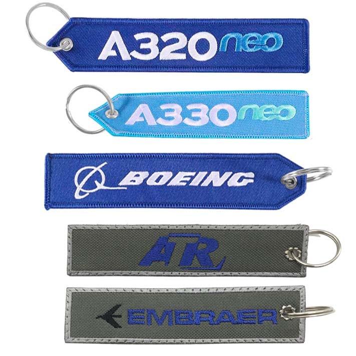 Tag Chaveiro AIRBUS /ATR, Boeing / Embraer