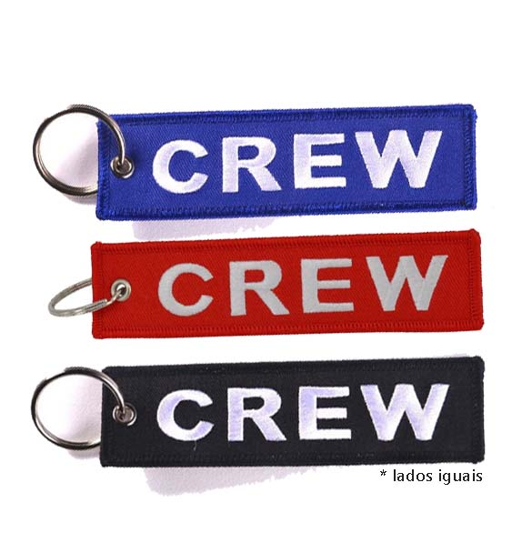 Tag Chaveiro Crew