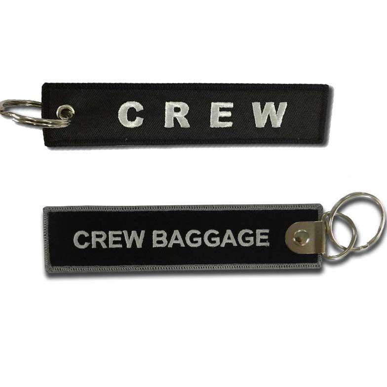 Tag Chaveiro Crew Blacks
