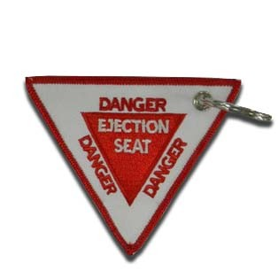 Tag Chaveiro Danger / Pull to Eject