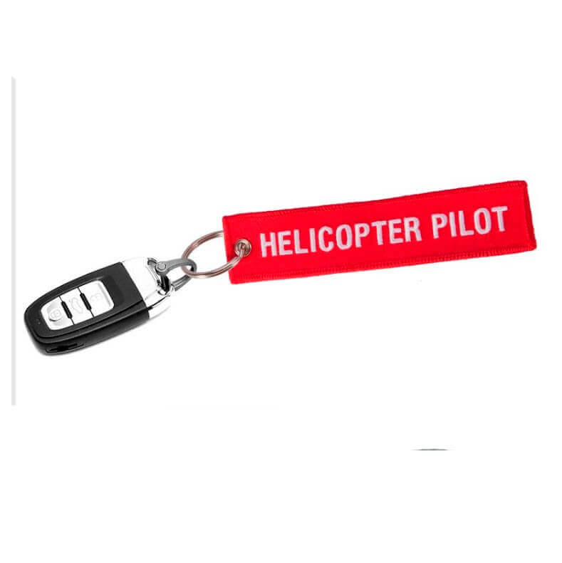 Tag Chaveiro Helicopter Pilot