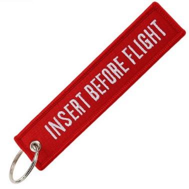 Tag Chaveiro Remove Before Flight Clássica