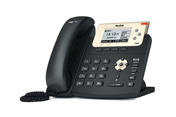 Telefone IP SIP-T23G C/ Fonte