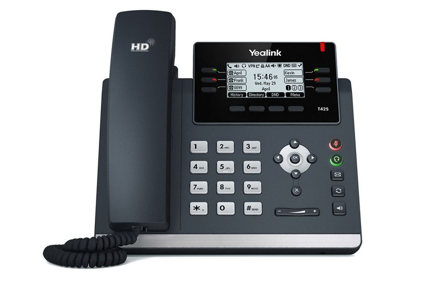 Telefone IP SIP-T42S C/ Fonte