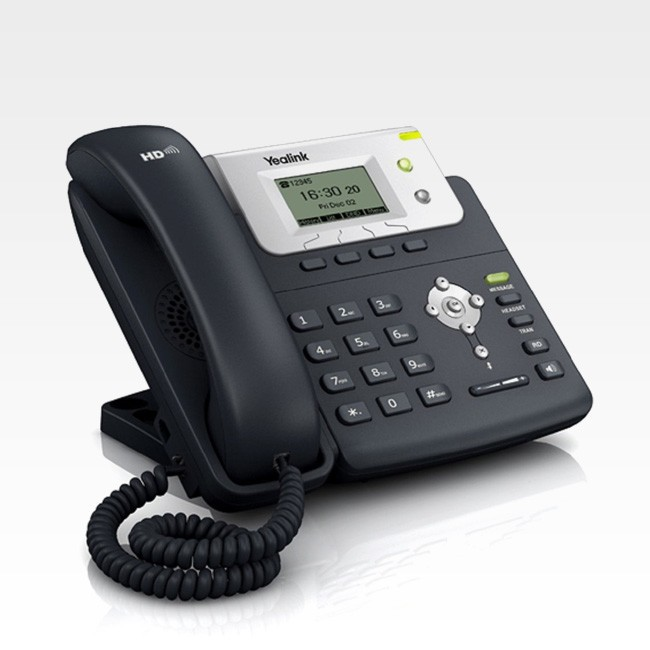 T21P/E2 - Telefone IP Yealink SIP com Fonte