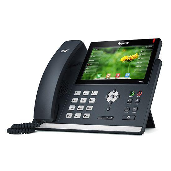 Telefone IP SIP-T48S C/ Fonte