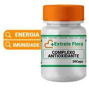 Complexo Antioxidante 30 Cápsulas (Resveratrol + Coenzima Q10  + Pinus Pinaster)