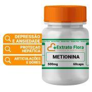 DL metionina 500mg 60 Cápsulas