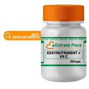 Exsynutriment 200g com Vitamina C 300g 30 Cápsulas