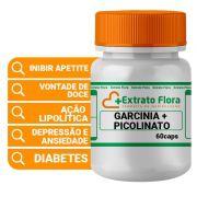 Garcinia + Picolinato de Cromo 60 Cápsulas