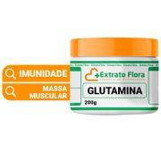 Glutamina em Pó 200g Pote