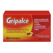 Gripalcê (paracetamol 400mg + maleato de clorfeniramina 4mg + cloridrato de fenilefrina 4mg) 20 Cápsulas